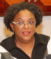 Leader of the Opposition Mia Mottley