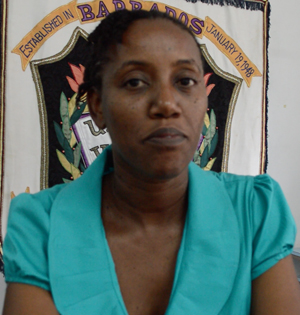Trudy Alleyne, top in the In Service Certificate In Special Needs Education programme.