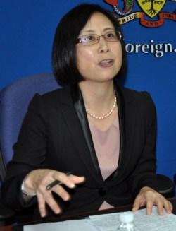 Ambassador of the People's Republic of China to Barbados Wang Ke
