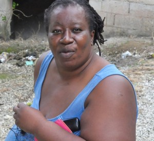 Outspoken resident Carlitha Andrews