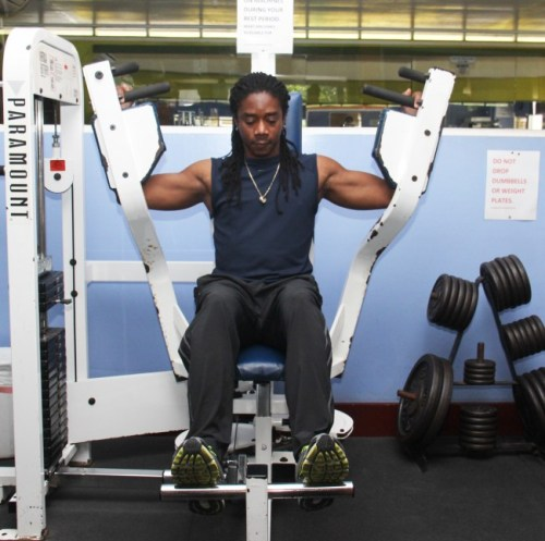 William Beckles, fitness professional and owner  of Little League Gym.