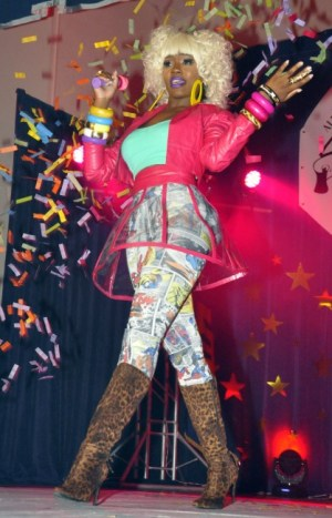 Sianna brought the house down with her impersonation of Nikki Minaj.