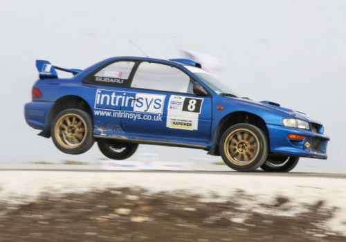 Roger Duckworth, Mark Broomfield on their way to fifth overall and victory in WRC2 last year. (Picture by Himal Reece)