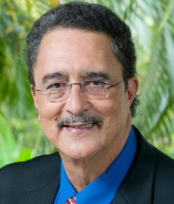 St Lucia's Prime Minister Dr Kenny Anthony