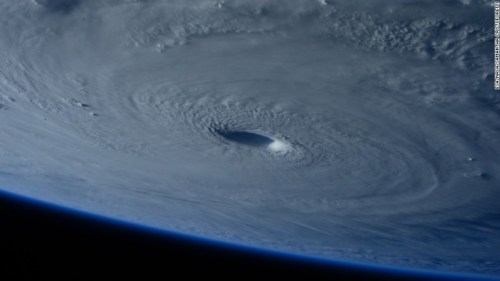A look at Super Typhoon Maysak from NASA, as captured by European Space Agency astronaut Samantha Cristoforetti.