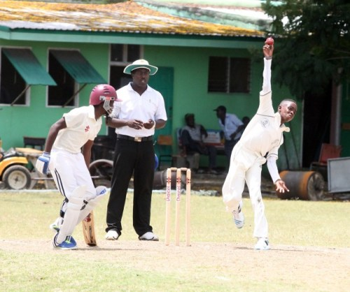 Combermere off-break bowler Nathan Goddard McCarthy captured five wickets.