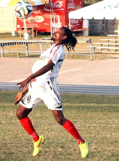 Dwayne Stanford netted a hat-trick against the Barbados Soccer Academy.(FP)