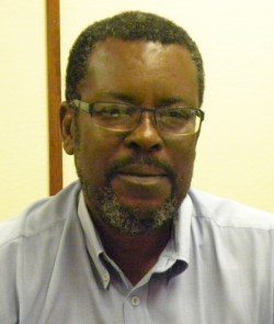 General manager of the Barbados Agricultural Management Company Leslie Parris