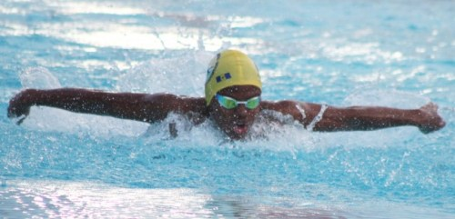 Nkosi Dunwoody won the 11-12 boys  200m individual medley and the 50m breaststroke.