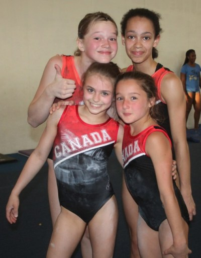 The Canadian gymnasts in Barbados are relaxed and confident heading into tomorrow's competition.