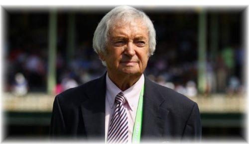 Former Australia captain and iconic cricket commentator, Richie Benaud