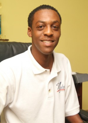 Nicholls Bakery sales manager Akil Daley.
