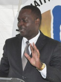 Minister of Industry and Commerce Donville Inniss