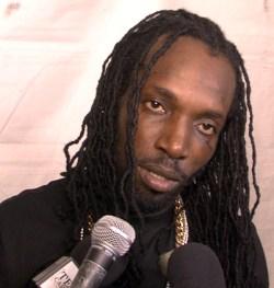 Reggae artist Mavado