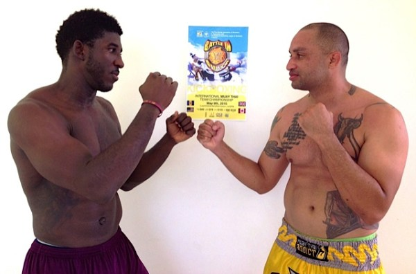 Charles Worrell (left) to battle against Ian Percival this weekend.