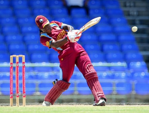 Deandra Dottin blasted West Indies to victory after early hiccups. (FP)
