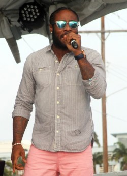 Kirk Brown performing  his new song Number One.