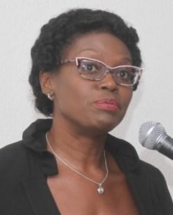 Registrar of the Supreme Court Barbara Cooke-Alleyne