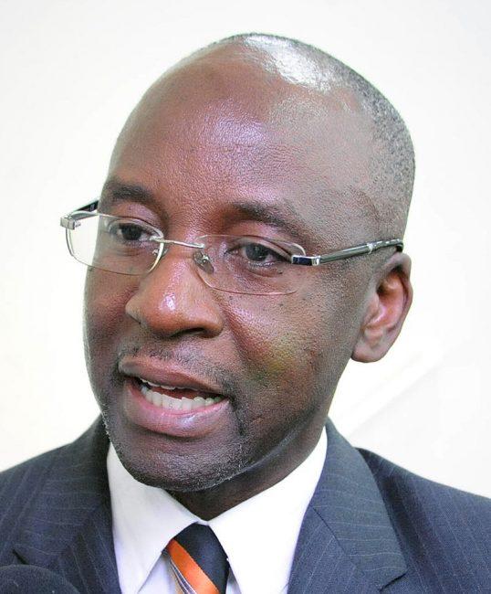 Minister Stephen Lashley