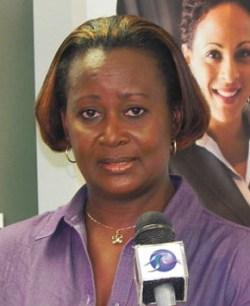 President of HRMAB Arlene Bushell