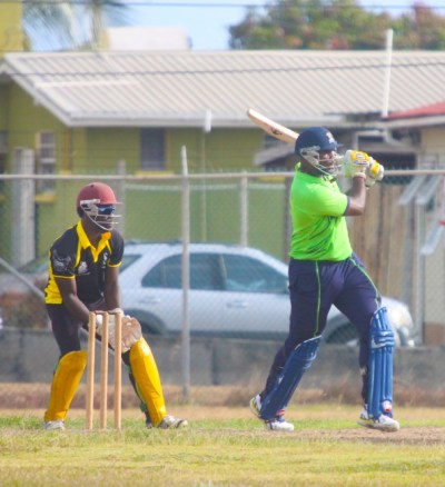 Ashley Nurse of LIME top scored  with 70 not out.