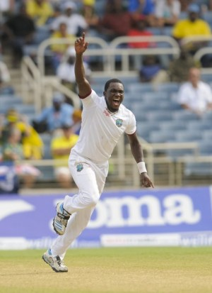 Jerome Taylor bowled exceptionally well today.