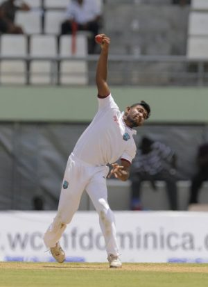 Devendra Bishoo bowled brilliantly but West Indies still facing defeat.