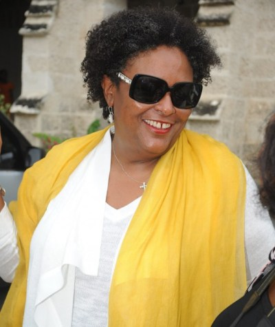 Opposition Leader Mia Mottley was waiting  to hear the Budget before commenting on it.