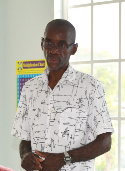 Acting assistant general secretary Wayne Walrond.