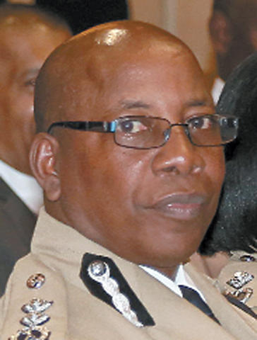 Acting Commissioner of Police Stephen Williams