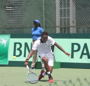 Darian King provided Barbados with the only wins of the tie.