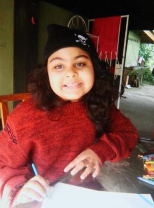 Eight-year-old Breanna Jessica Jaglal.
