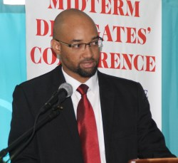 Julian Hunte believes that trade unions need younger blood.