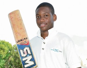 Nyeem Young impressed with the bat on the  England tour.