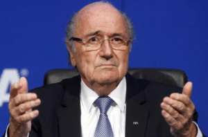 "Sepp Blatter described by FIFA official as ""finished""."