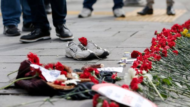 Turkey declared three days of mourning over the bombing.