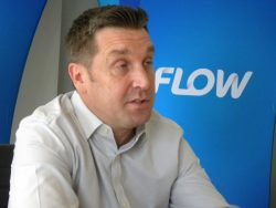 Flow Chief executive officer and managing director Niall Sheehy.