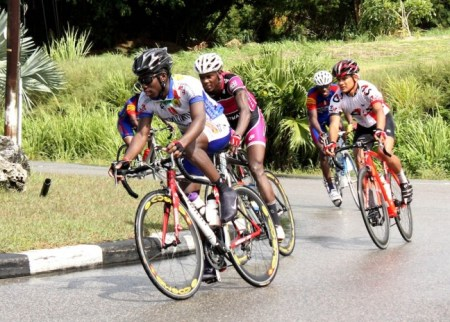 Jason Perryman is among several top Barbadian cyclists who will be in action.