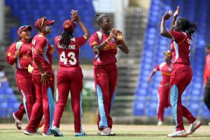 West Indies Women are ranked fifth.