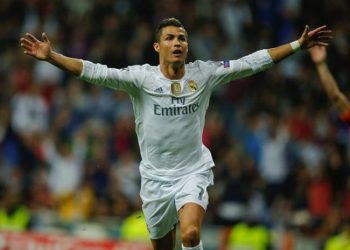 Ronaldo scored twice for Real Madrid.