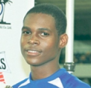 Shaquille Stewart scored a hat-trick for St Thomas.