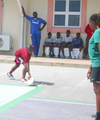 Wesley Hall Juniors had a good day on court and N'tari Haynes helped in their success.  (Pictures by Morissa Lindsay)