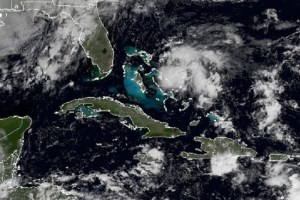 Tropical Storm Kate formed off The Bahamas today.