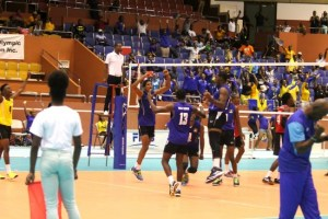 Barbados' fans and players could be in for more sights like these if they host the 2018 Senior Championships