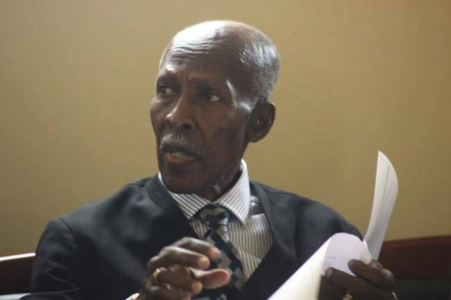 Tribunal Chairman Hal Gollop, QC
