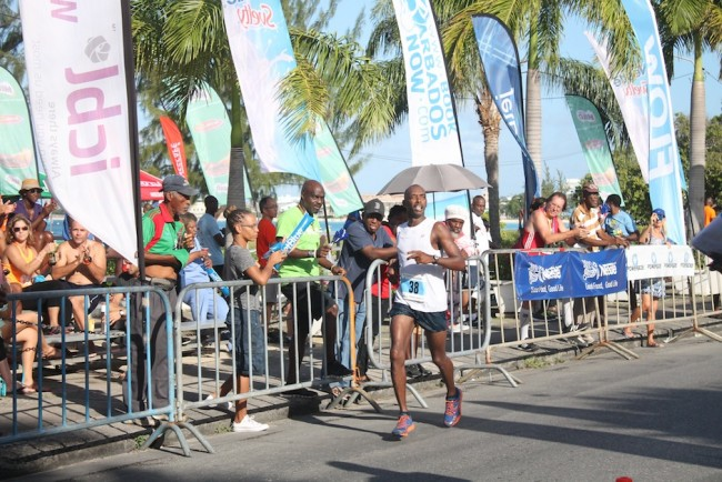 Neil Bourne of Trinidad was second.
