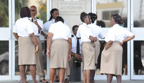Travel and trade in and out of the island were also affected as unionized workers at the Immigration Department joined those at the Customs Department on a go-slow.