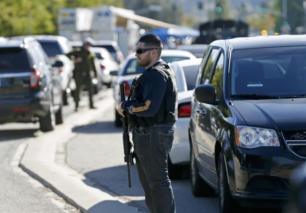 At least three people were killed and several wounded during a shooting rampage outside a social services agency in the Southern California city of San Bernardino, officials said.