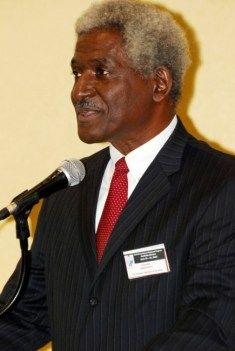 Outgoing United  States Ambassador  to Barbados Dr Larry Palmer