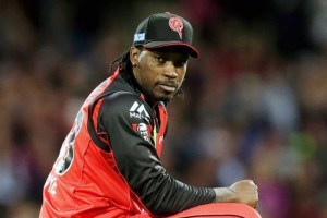Chris Gayle is facing a Big Bash ban.